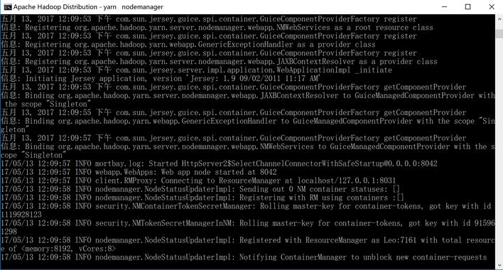 (九)hadoop 的 Windows 伪分布式环境部署