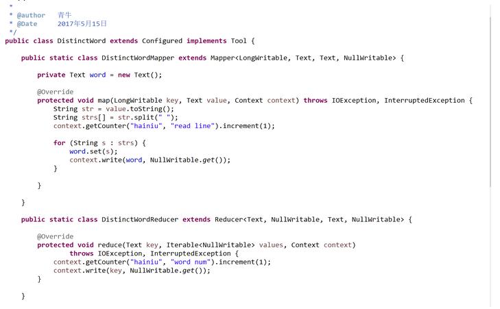 mapreducer 编程(1)